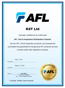 Autorized Distributor Sertificate 2015