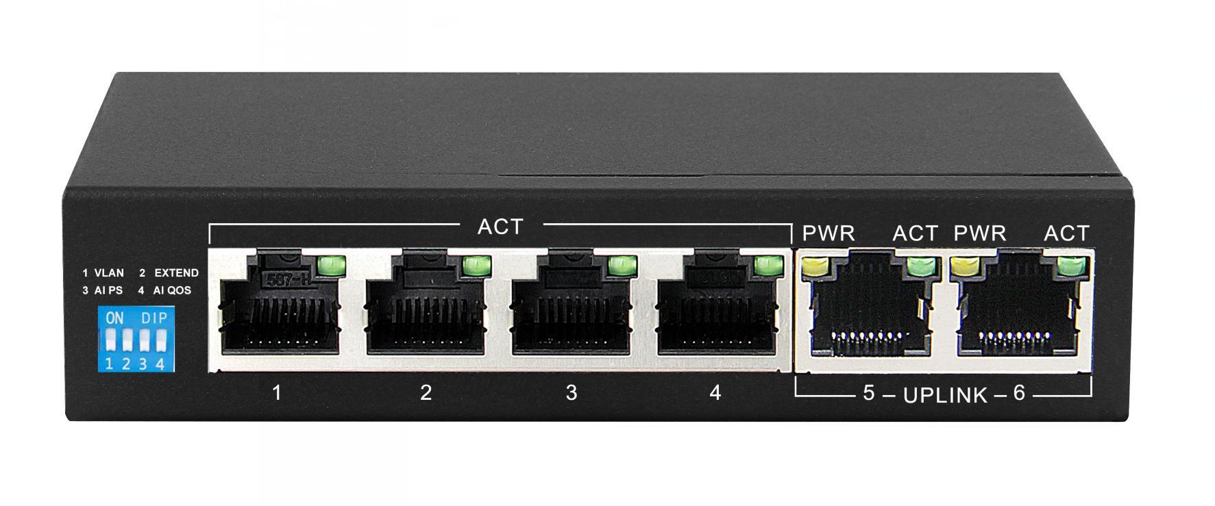 Нови 4/8 порта PoE Ethernet Суичове от КСТ